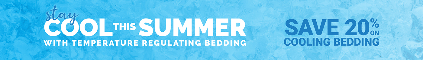 Cooling Bedding Sale - Save 20%