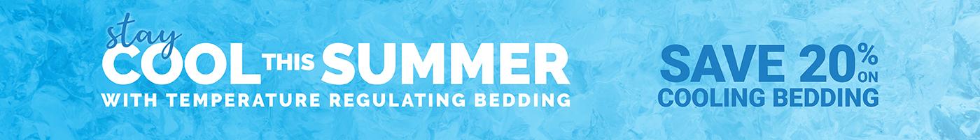 Cooling Bedding Sale - Save 20%