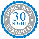 30 Night Money Back Guarantee