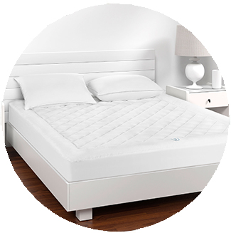 Great Sleep® Cooling Mattress Pad - See Product